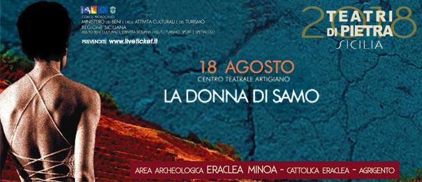 La Donna di Samo all'Area Archeologica Eraclea Minoa a Cattolica Eraclea (AG)