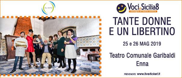 Tante donne e un libertino al Teatro Garibaldi di Enna