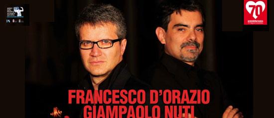 Francesco D'Orazio e Giampaolo Nuti al Teatro TaTà di Taranto