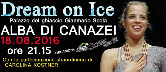 Dream on Ice in Val di Fassa a Canazei