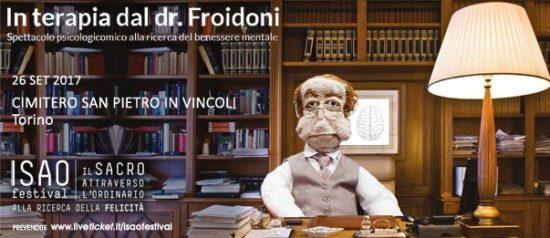 """Isao Festival """"In terapia dal Dr. Froidoni"""" al Cimitero San Pietro in Vincoli a Torino"""