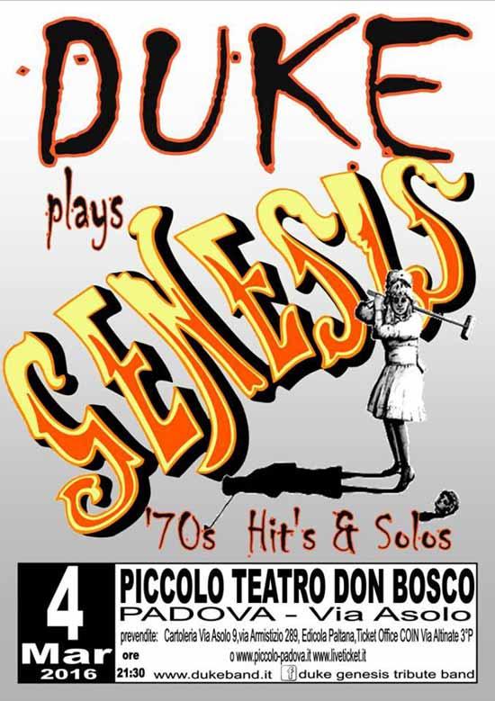 Duke al Piccolo Teatro Don Bosco di Padova