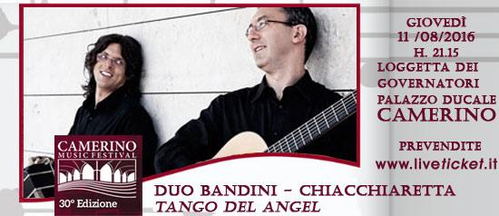 Duo Bandini - Chiacchiaretta al Camerino Music Festival