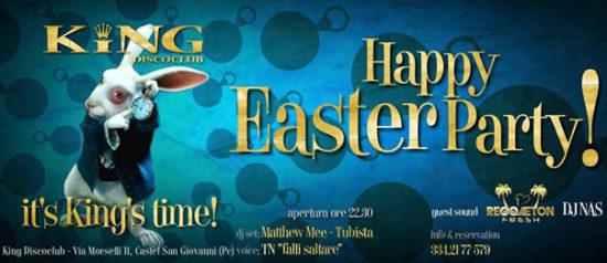 Happy Easter party al King Disco Club di Castel San Giovanni