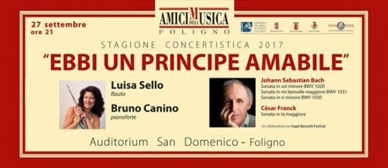 Ebbi un principe amabile all'Auditorium San Domenico di Foligno
