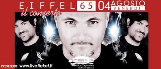 Eiffel 65 il concerto alla Capannina di Forte dei Marmi