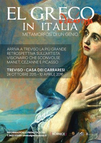 """""""El Greco in Italia"""" a Treviso"""