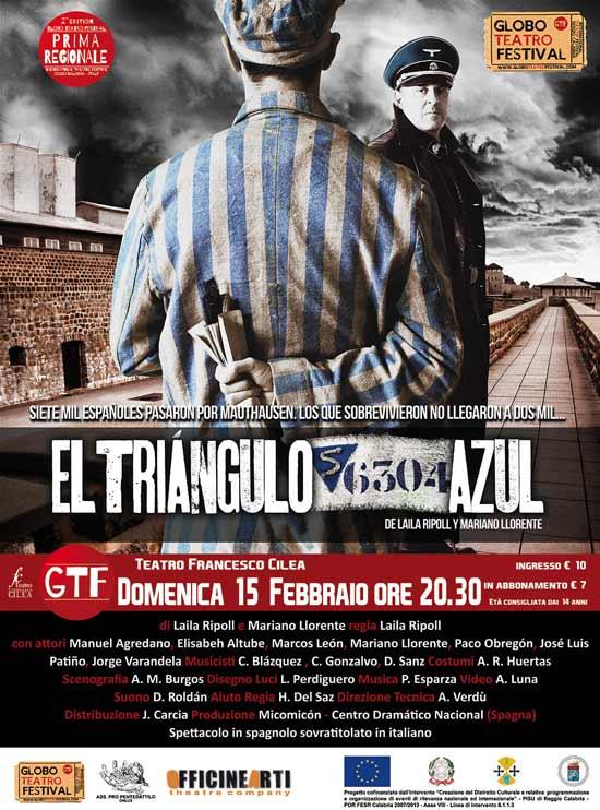 """""""El Triangùlo Azul"""" al Globo Teatro Festival a Reggio Calabria"""