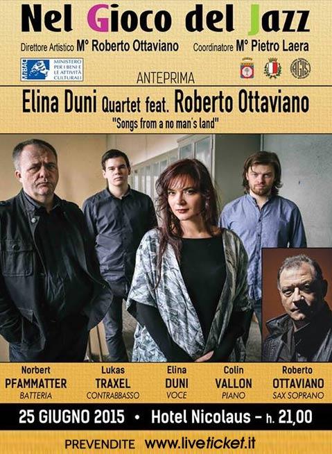 Elina Duni Quartet & Roberto Ottaviano a Bari
