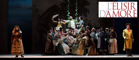 """L'elisir d'amore in differita dal """"Gran Teatro La Fenice"""" di Venezia"""