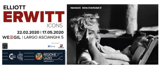 "Mostra ""Elliott Erwitt Icons"" al WEGIL a Roma"