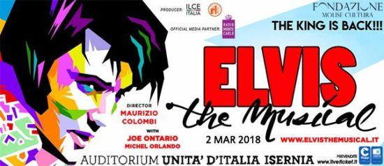 Elvis - The Musical all'Auditorium Unità d'Italia di Isernia
