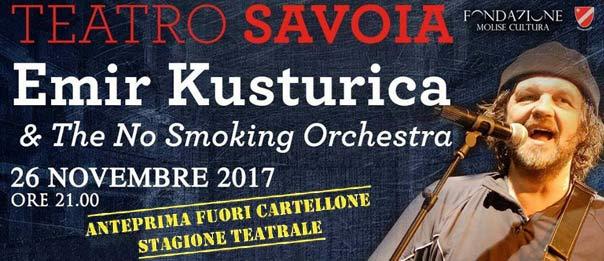 Emir Kusturica & The No Smoking Orchestra al Teatro Savoia di Campobasso