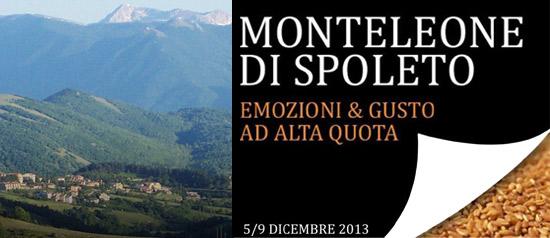 Mostra Mercato del Farro DOP e dei Prodotti Tipici della Montagna a Monteleone di Spoleto