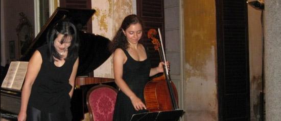 Chiara Enderle e Yoshiko Iwai in concerto al Teatro San Carlo di Modena