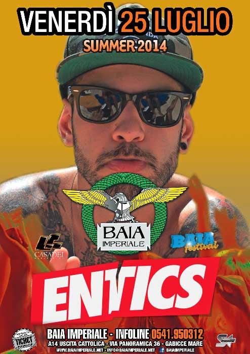 Entics @ Baia Imperiale a Gabicce