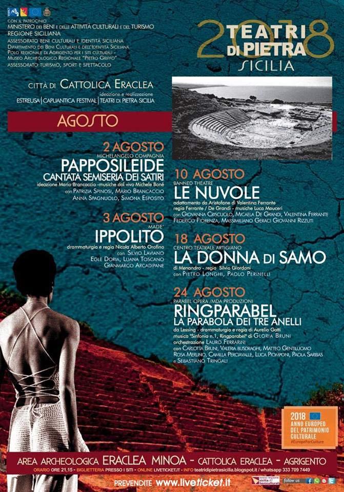 Papposileide all'Area Archeologica Eraclea Minoa a Cattolica Eraclea (AG)
