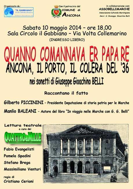"""""""Qanno comannava er Papa Re"""" al Circolo Il Gabbiano di Palombina"""