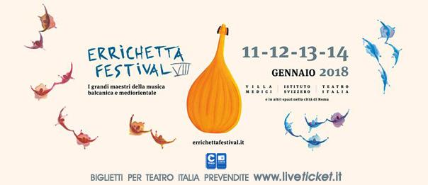 Errichetta Festival VIII al Teatro Italia a Roma