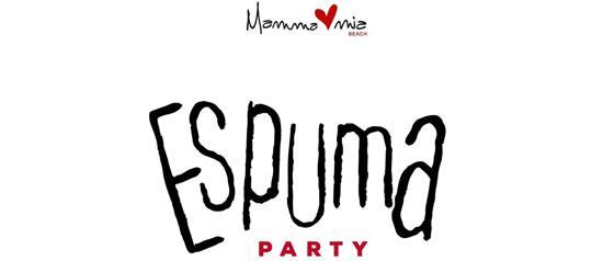 Espuma Party al Mamma Mia beach a Santa Teresa di Riva