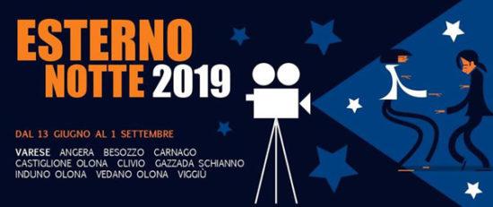 """Rassegna cinematografica estiva """"Esterno Notte"""" 32ª edizione in provincia di Varese"""