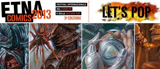 Etna Comics 2013 al Centro Fieristico Le Ciminiere di Catania