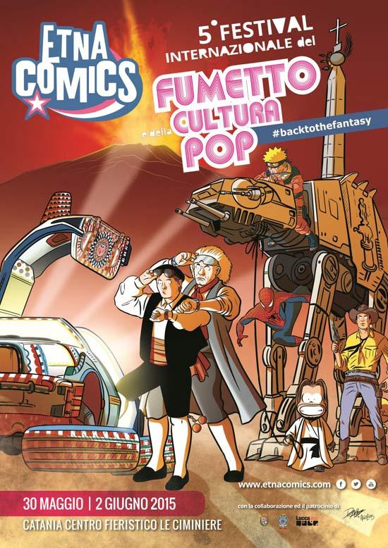 """Etna Comics """"Festival Internazionale del fumetto e della cultura pop"""" a Catania"""