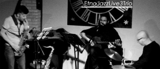 EtnoJazzLive3 TRIO al Flash Mob di Roma