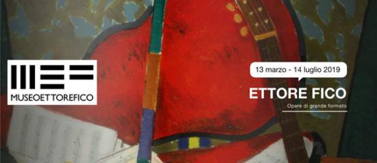 """""""Ettore Fico. Opere di grande formato"""" al MEF - Museo Ettore Fico di Torino"""
