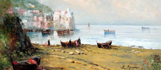 Paesaggio tra realtà e immaginazione, Eugenio Magno in mostra al DAMA Museum di Capua