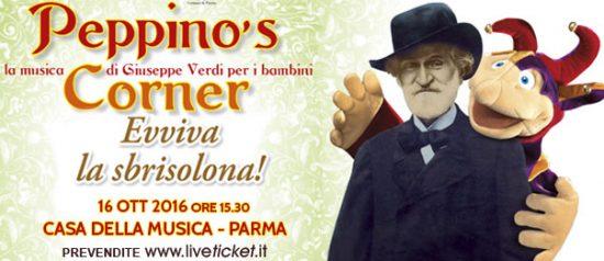 """Peppino's corner """"Evviva la sbrisolona!""""alla Casa della Musica a Parma"""