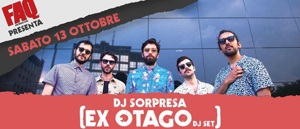 Dj Sorpresa (Ex-Otago dj set) al Faq Live Music Club a Grosseto