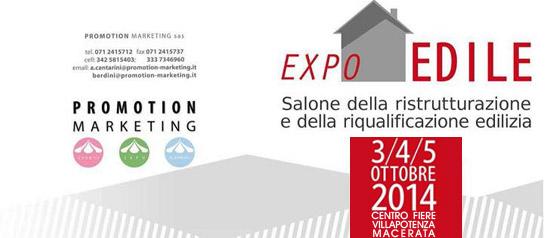 Expo Edile al Centro Fiere Villa Potenza di Macerata