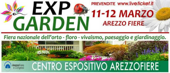 Expo Garden 2017 a Padiglione Chimera di Arezzo