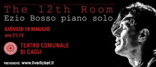 """Ezio Bosso """"The 12th Room"""" - Piano solo concert al Teatro di Cagli"""