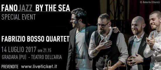 Fabrizio Bosso Quartet – Special Event al Fano Jazz by the Sea 2017 a Gradara