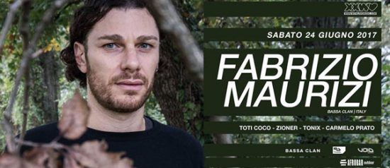 With love presents: Fabrizio Maurizi a Afrobar di Catania