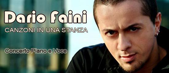 """""""Canzoni in una stanza"""" Dario Faini live al Teatro Cinema Piceno"""