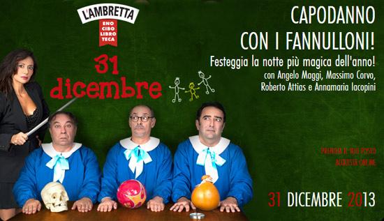 Capodanno 2013 Teatro Ambra alla Garbatella