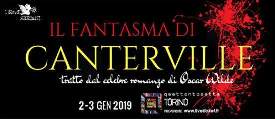 Il fantasma di Canterville al Q77 di Torino