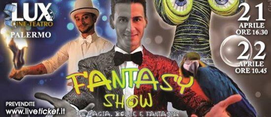 Lo scrigno magico - Magic show al Cineteatro Lux di Palermo