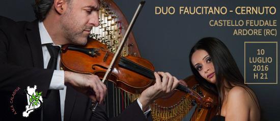 Duo Faucitano - Cernuto al Castello Feudale di Ardore