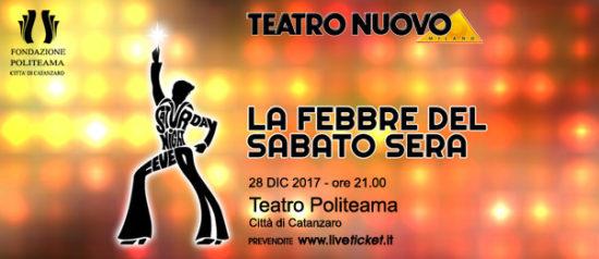 La febbre del sabato sera. Il musical al Teatro Politeama di Catanzaro