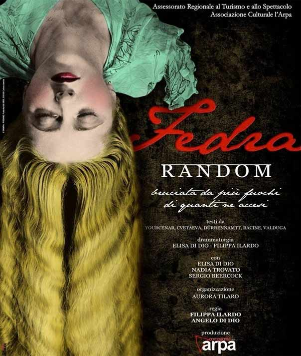 """FEDRArandom"" al Teatro Garibaldi di Enna"