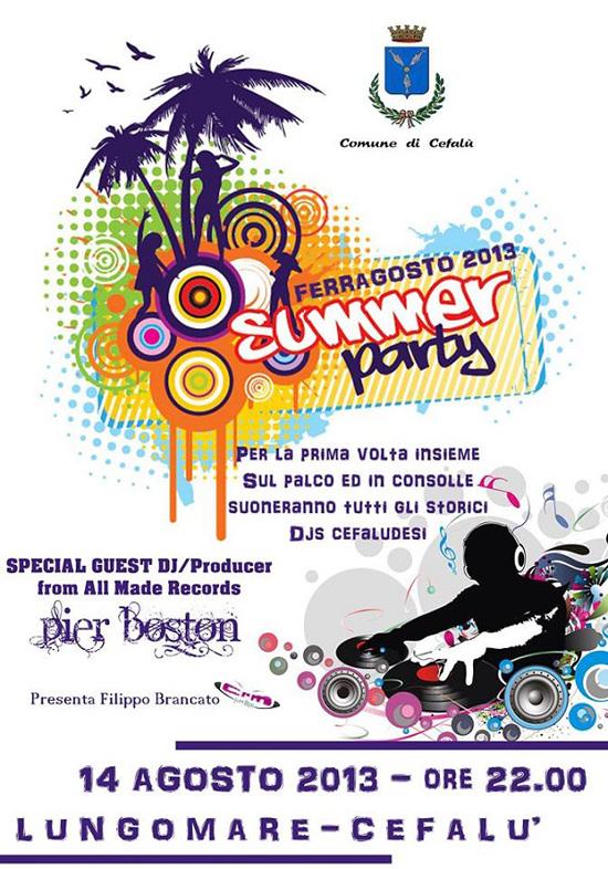 Ferragosto Cefal - III Summer Party a Cefal