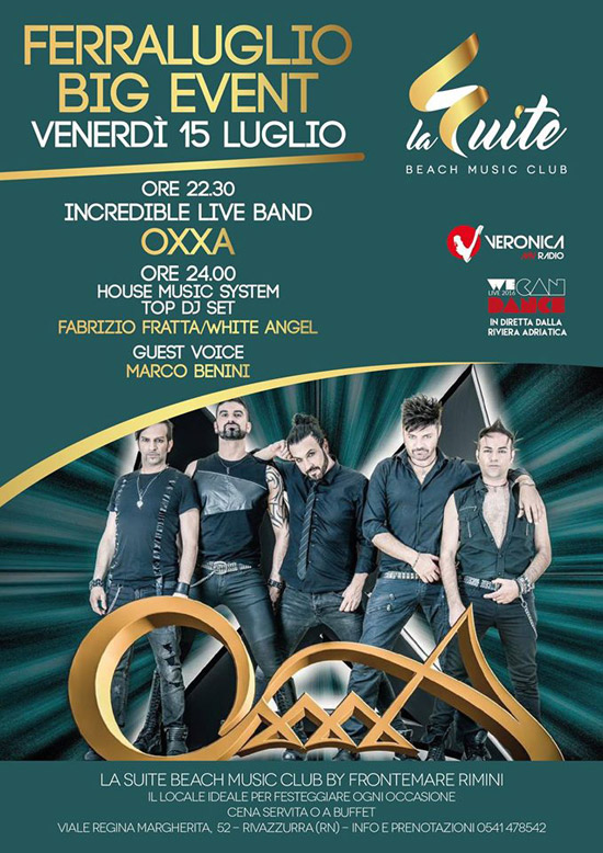 Ferraluglio Big Event al Ristorante Frontemare di Rimini
