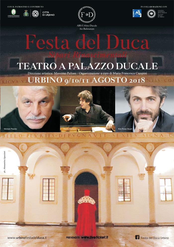 Festa del Duca al Palazzo ducale di Urbino