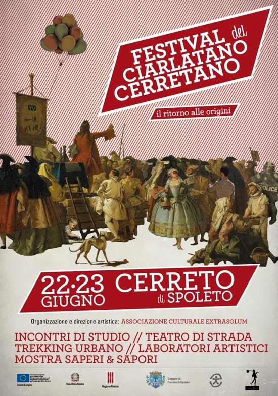 Festival del Ciarlatano Cerretano a Cerreto di Spoleto