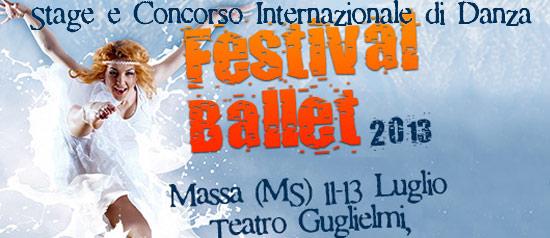 Festival Ballet 2013, Danza d'Estate a Massa