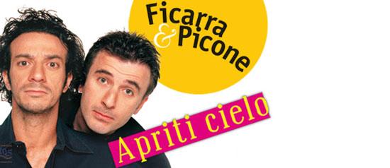 """Ficarra & Picone  in """"Apriti Cielo"""" al Parco del Castello Tramontano di Matera"""